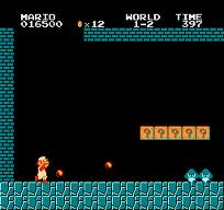 Level 1-2 of Super Mario Bros has one of the most distinct gaming melodies of all-time.