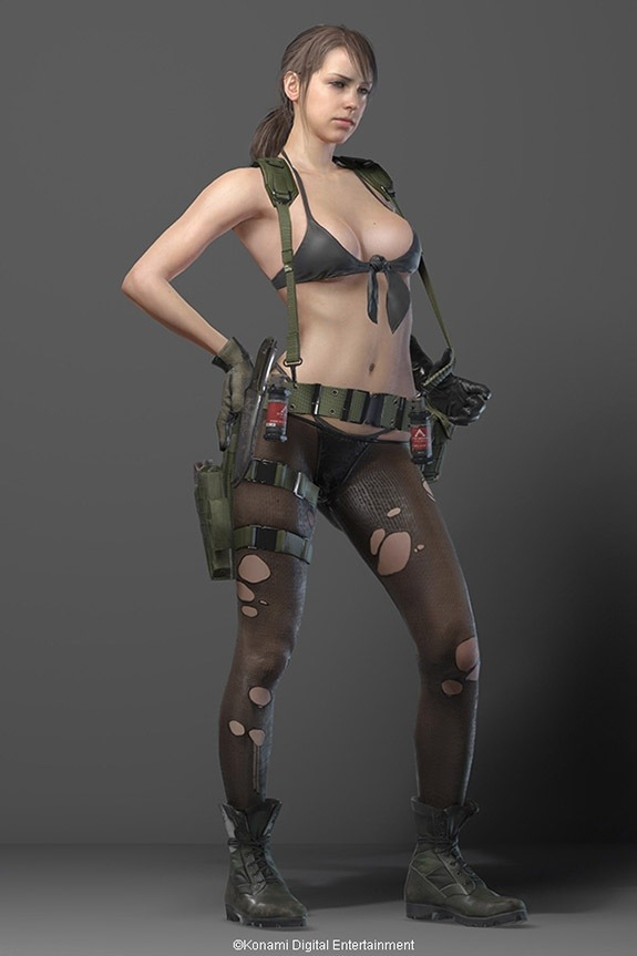 Sexualized female characters in video games